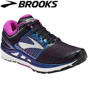 NEW Brooks Transcend 5 Blk/Blue/Purple 1202631B023